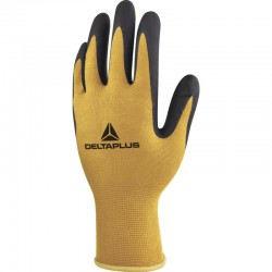 ORPHEE VV810 KNITTED POLYAMIDE GLOVE PU COATING WITHOUT SOLVENTS ON PALM - GAUGE 13