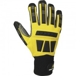 EOS VV900 GLOVE WITH PU/POLYAMIDE PALM + DOTS - POLYESTER/PU BACK - BACK REINFORCEMENTS