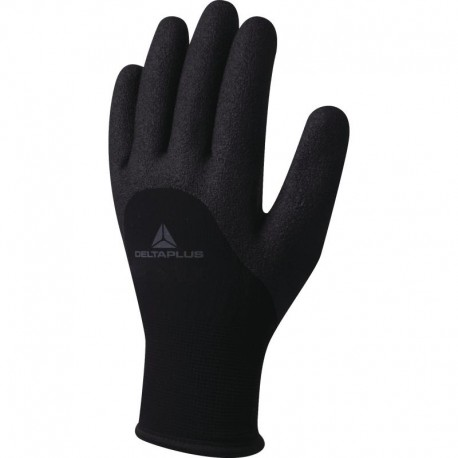 HERCULE VV750 KNITTED ACRYLIC/POLYAMID GLOVE - NITRILE FOAM COATING ON PALM, FINGERS AND HALF BACK