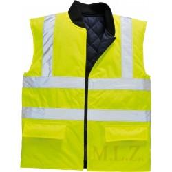 S469 Reflexná obojstranná vesta