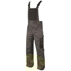 Pracovné nohavice s náprsenkou 4TECH