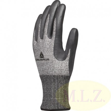 KNITTED DELTANOCUT® GLOVE WITH FOAM NITRILE COATING PALM - GAUGE 13