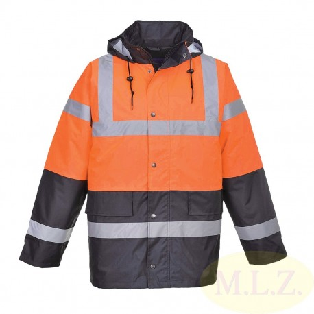 S467 - Reflexná vetrovka Hi-Vis Two tone Traffic