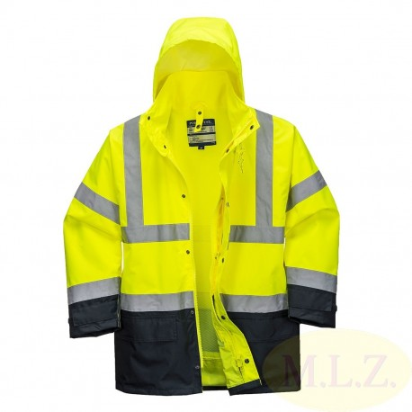 S768 - Vetrovka 5v1 Hi-Vis Executive