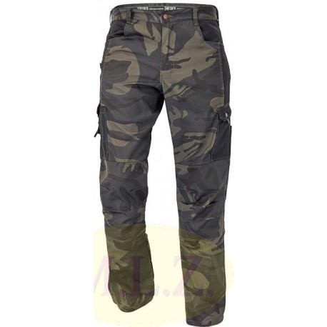 CRAMBE maskáčové nohavice